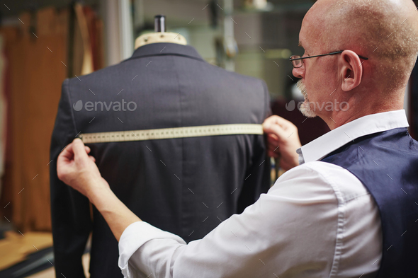 Measuring back - Stock Photo - Images