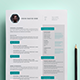 Acqua Resume - GraphicRiver Item for Sale