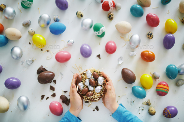 Easter sweets - Stock Photo - Images