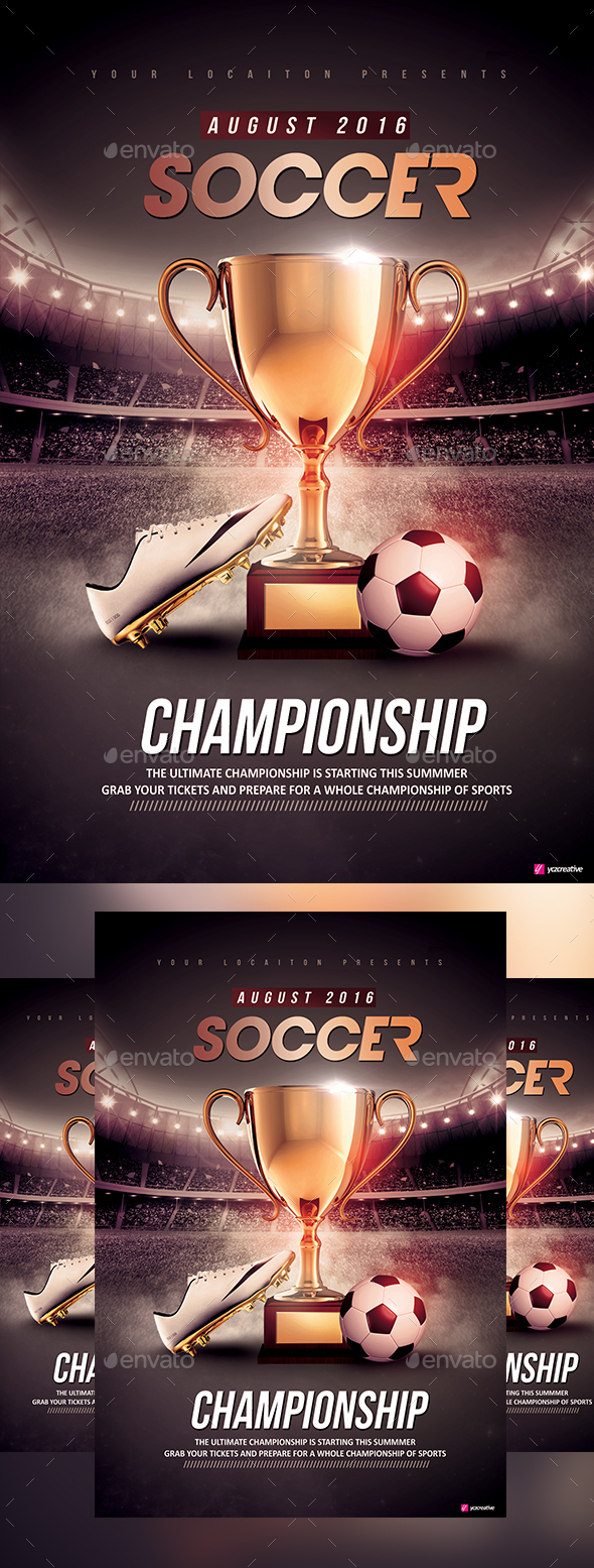 Soccer Championship - Sports Events