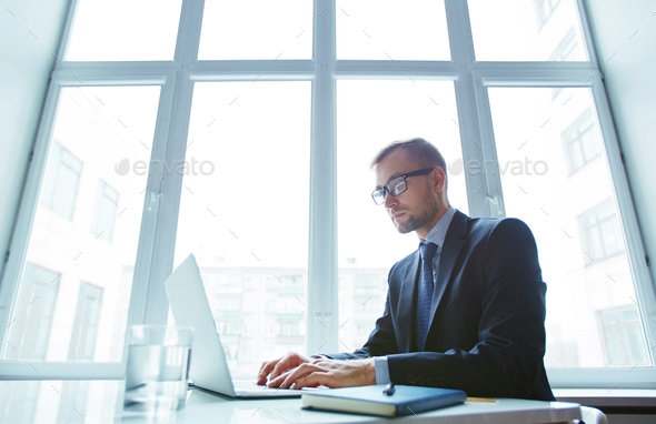 Busy typing - Stock Photo - Images