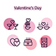 Super Set Icons Valentine's Day - GraphicRiver Item for Sale
