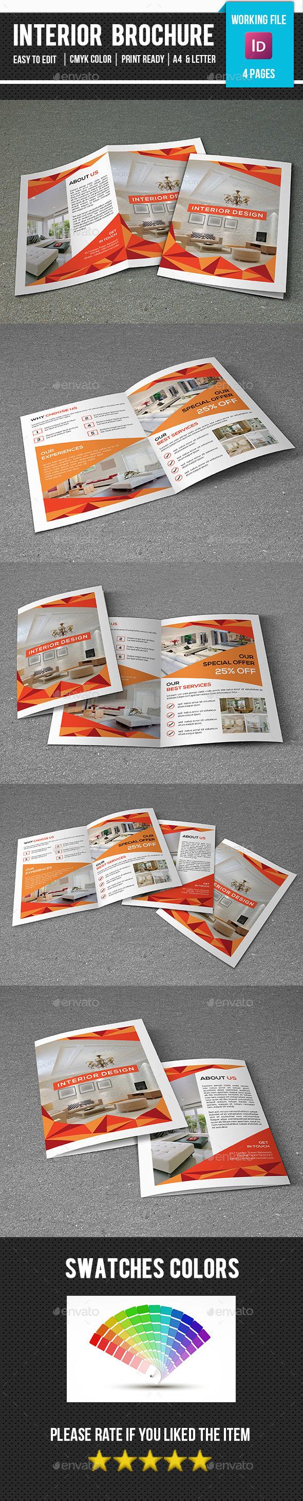 Interior Design Brochure-V358 - Corporate Brochures