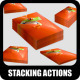 Stacking Actions No.1 - GraphicRiver Item for Sale