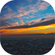 Sunrise Over The Town - VideoHive Item for Sale