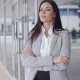 Confident Business Woman With Folded Arms - VideoHive Item for Sale