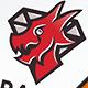 Diamond Dragon Crest Logo