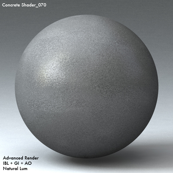Concrete Shader_070 - 3DOcean Item for Sale