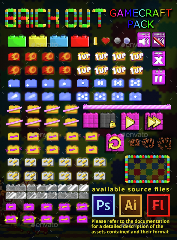 Brick Out - Game Assets  - Game Assets