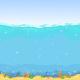 Underwater Seamless Landscape Cartoon Background - GraphicRiver Item for Sale