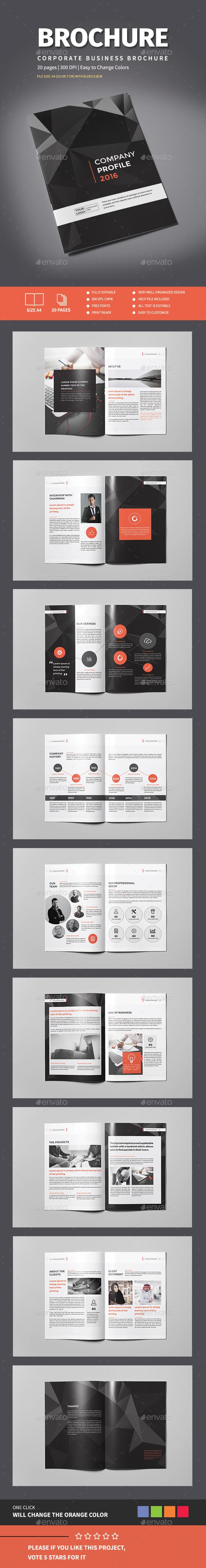 The Company Brochure - Corporate Brochures