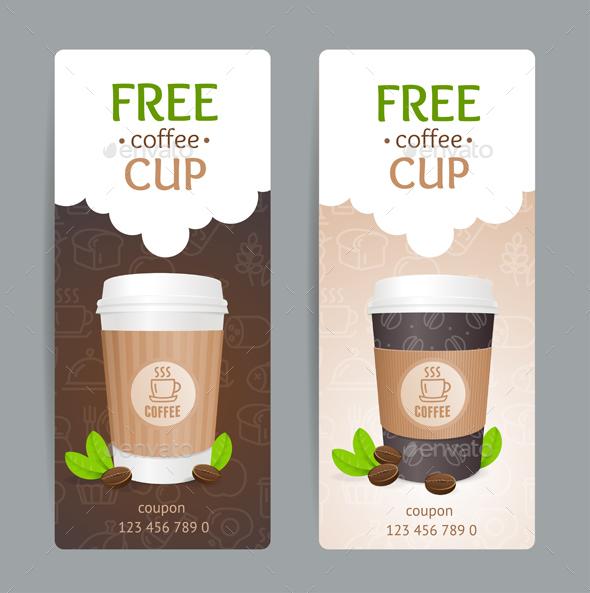 Coffee Coupon Set - Miscellaneous Vectors