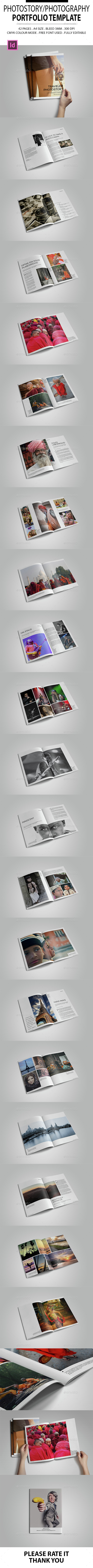 Photostory/Photography Portfolio Template - Portfolio Brochures