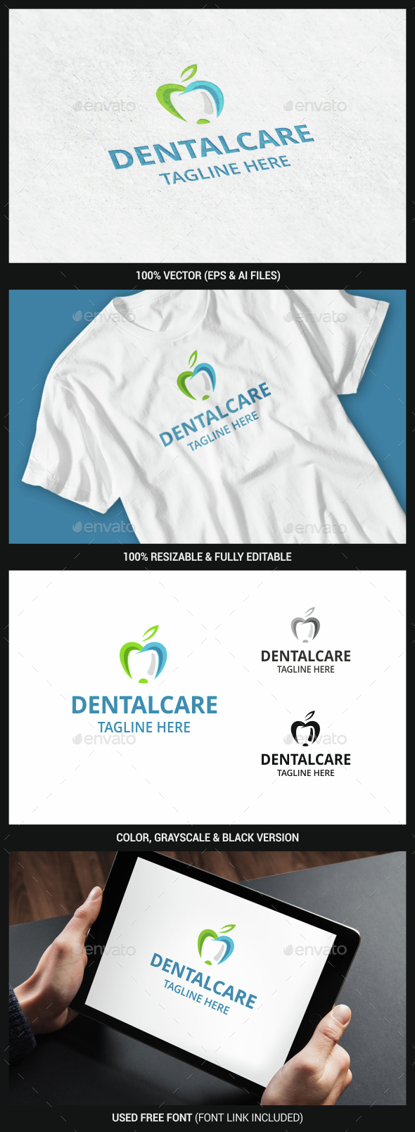 Dental - Objects Logo Templates
