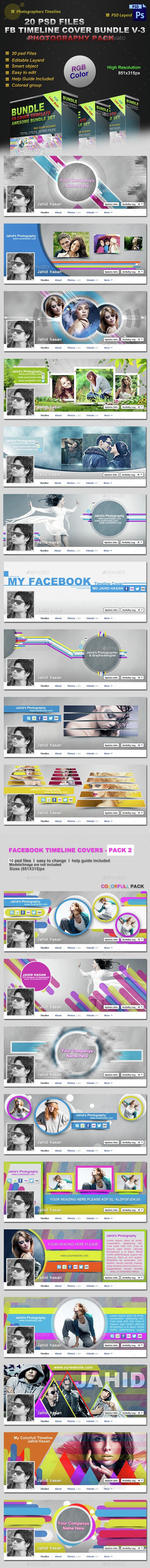 FB Timeline Cover Bundle - Facebook Timeline Covers Social Media