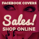 Facebook Timeline Covers - Shop Online Sales - GraphicRiver Item for Sale