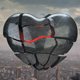 3D Broken Heart Flyer - GraphicRiver Item for Sale
