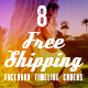 Facebook Timeline Covers - Free Shipping - GraphicRiver Item for Sale