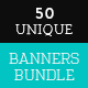 50 Web Ads-Banners Bundle - GraphicRiver Item for Sale