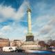 Traffic at Bastille, Morning, Paris - VideoHive Item for Sale