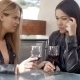 Female Drinking With Crying Friend - VideoHive Item for Sale