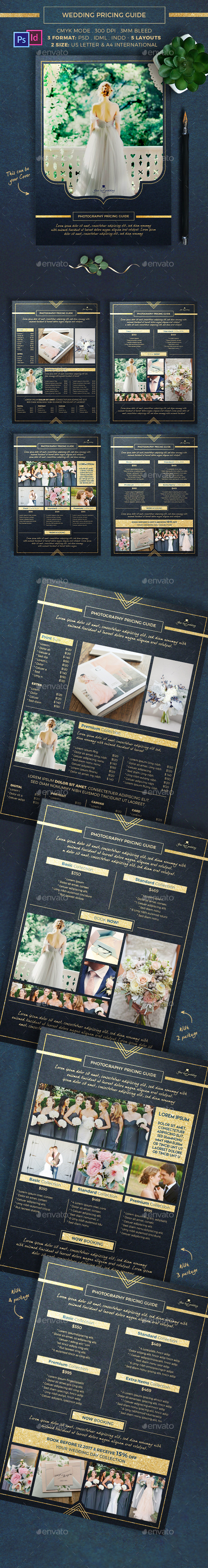 Photographer Pricing Guide - Corporate Flyers