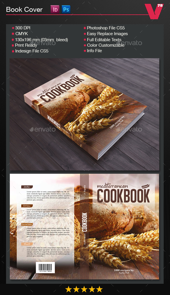 Cover Cookbook - Miscellaneous Print Templates