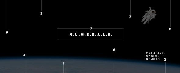 Numerals videohive promo video animation logo design motion