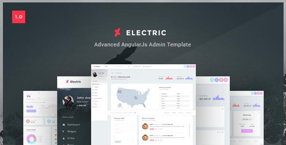 Electric – Admin Panel Dashboard HTML Template