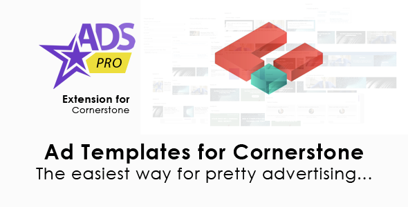 Ads Pro Cornerstone Extension - Ad Templates - CodeCanyon Item for Sale