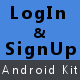 Login and Signup Kit For Android - CodeCanyon Item for Sale