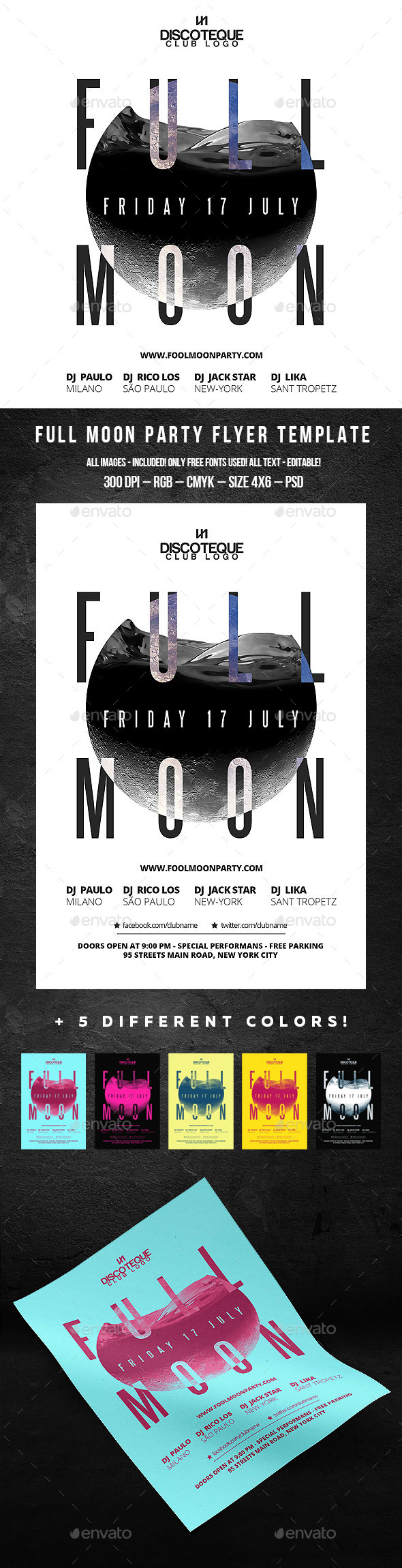 Full Moon - Clubs & Parties Events