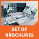 Set of Brochures / Stationery 04 - GraphicRiver Item for Sale