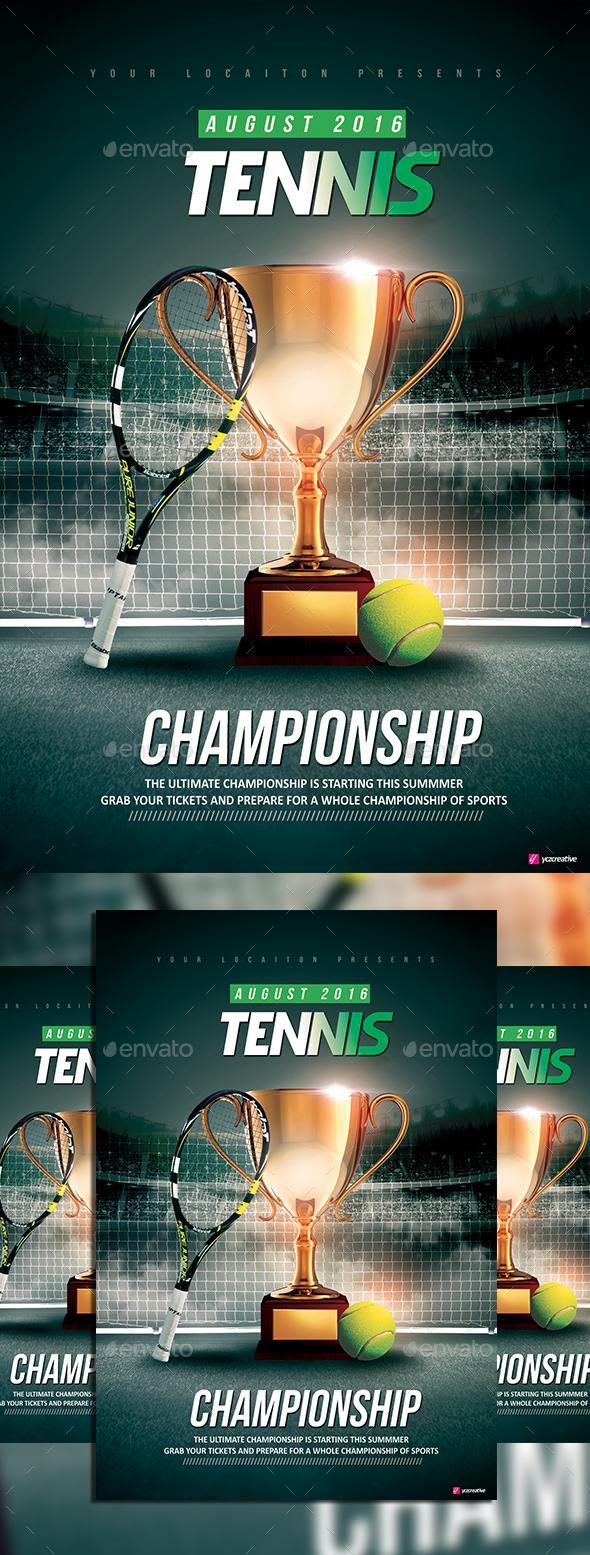 Tennis Championship - Sports Events