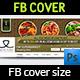 Supermarket Facebook Timeline Cover Template