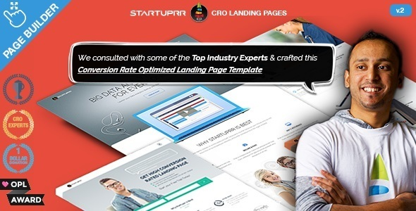 Lead Generation Landing Page Templates | Startuprr - Creative Landing Pages
