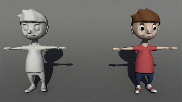 3d models for kids - 3DOcean Item for Sale