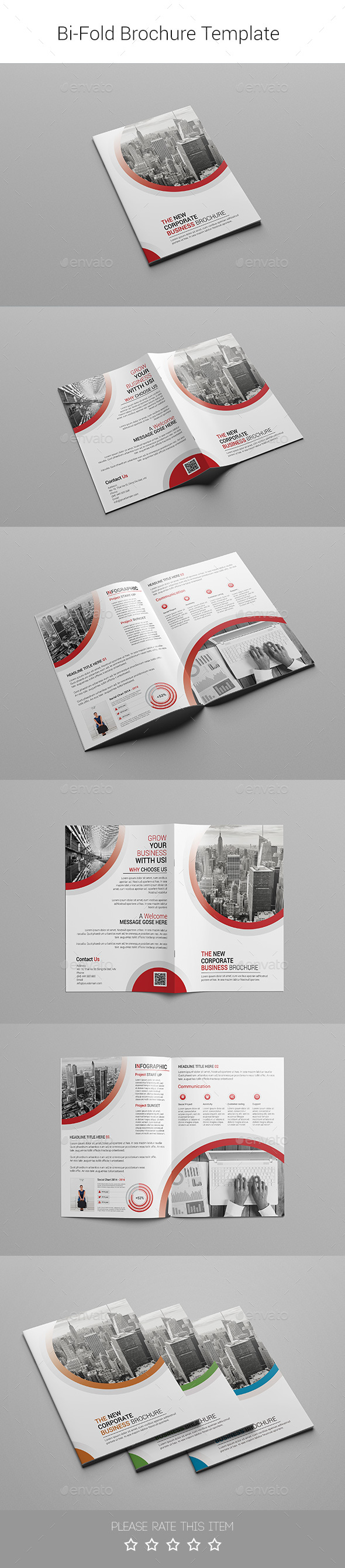 Corporate Bi-fold Brochure-Multipurpose 07 - Corporate Brochures