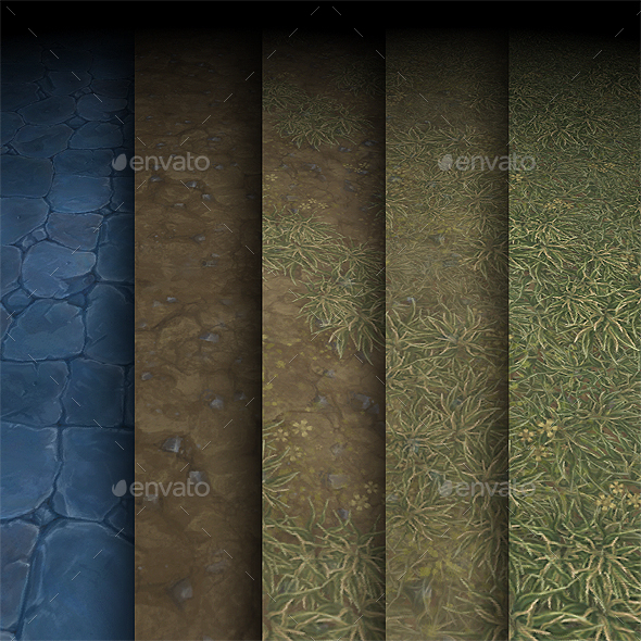 Texture Pack 03 - Game Assets