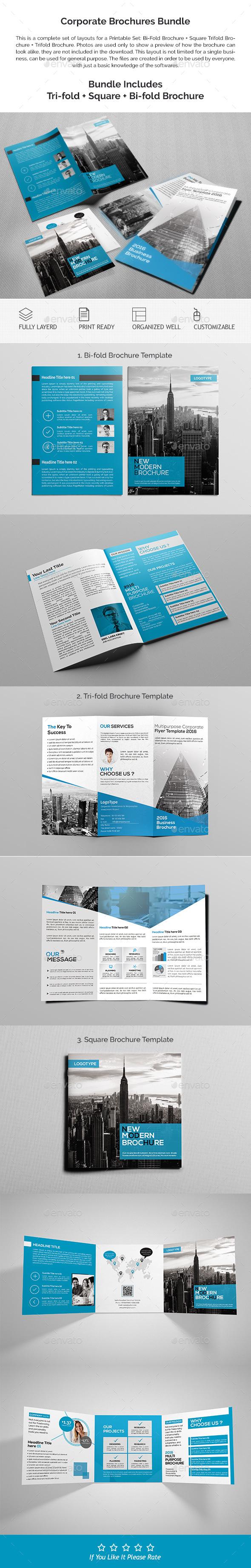 Corporate Brochures Bundle 02 - Corporate Brochures