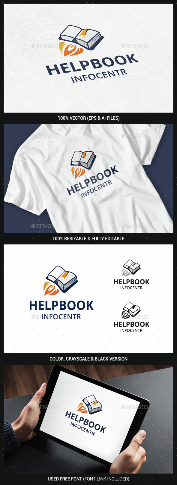 Book - Objects Logo Templates