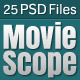 MovieScope PSD Template Nulled