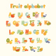 Cartoon Alphabet for Kids in Bright Colors - GraphicRiver Item for Sale