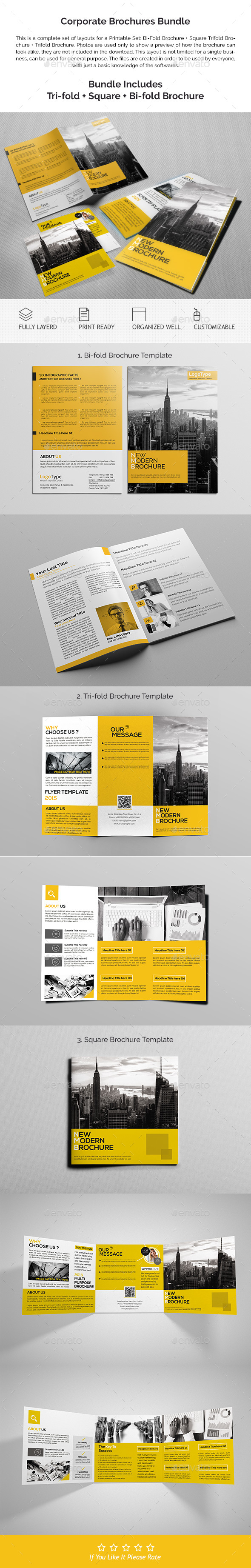 Corporate Brochures Bundle 03 - Corporate Brochures