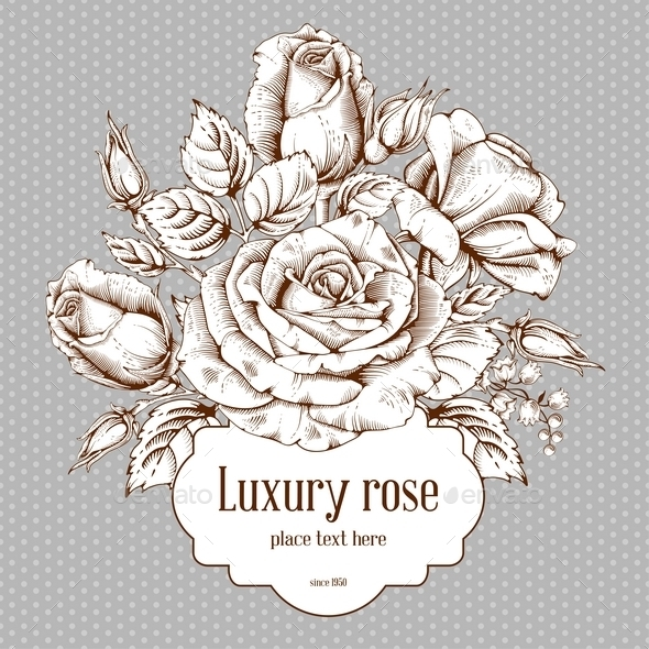 Luxury Rose - Backgrounds Decorative