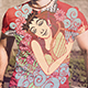 Erato Ancient Greece Tshirt Design - GraphicRiver Item for Sale
