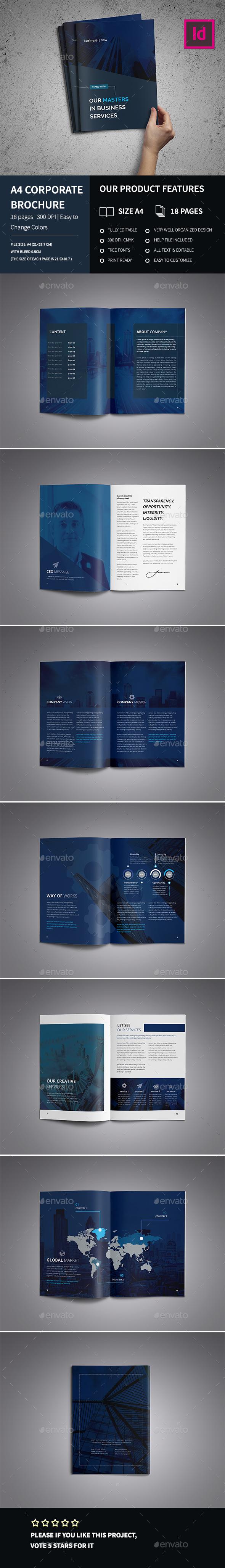 A4 Corporate Business Brochure Indd - Corporate Brochures