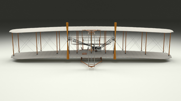 Rigged Wright Flyer 1903 - 3DOcean Item for Sale