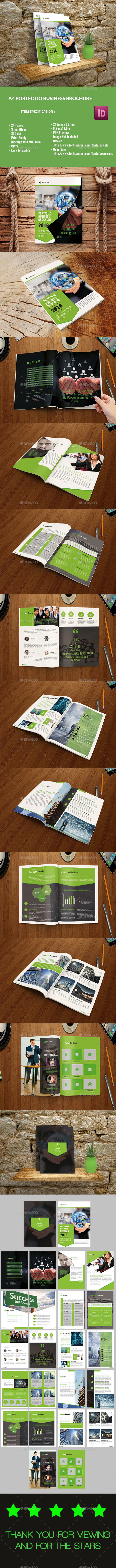 Portfolio Business Brochure - Corporate Brochures