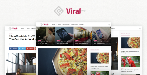 ViralWP - Viral WordPress Theme - Personal Blog / Magazine